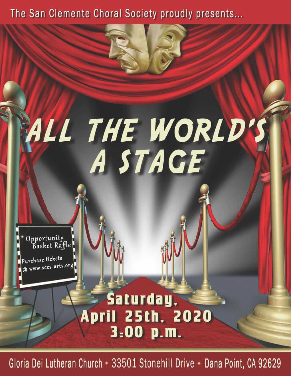 All the Worlds a Stage Concert April 25 2020