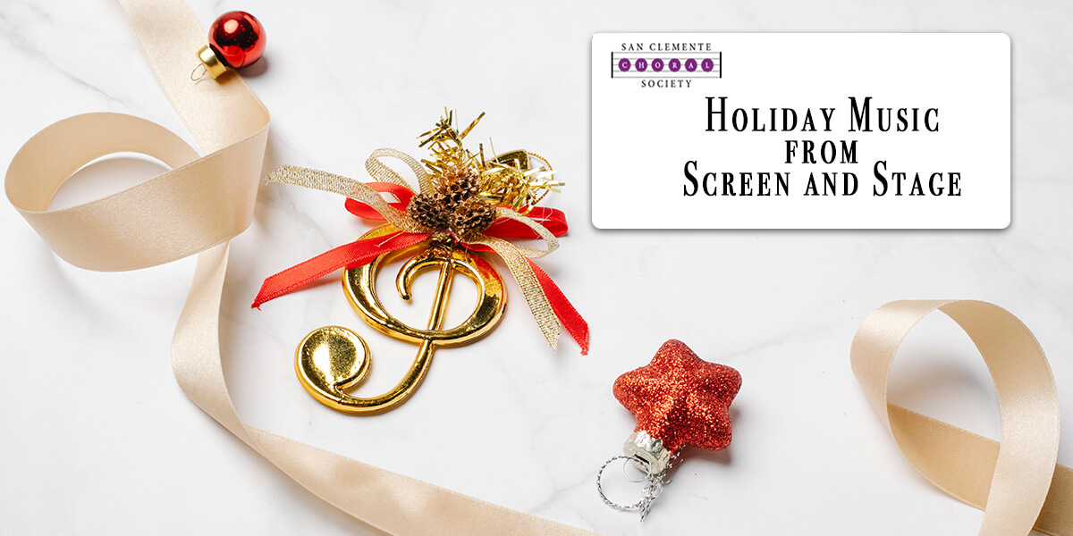 San Clemente Choral Society Holiday Concert 2021